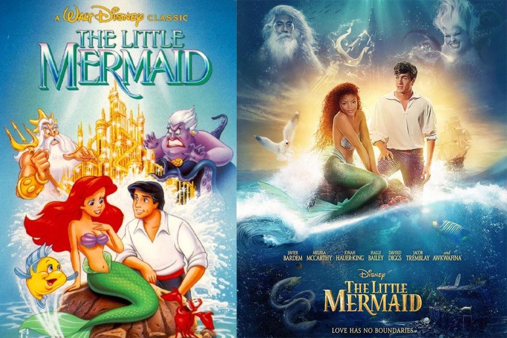 Poster The Little Mermaid - Nàng Tiên Cá 2021